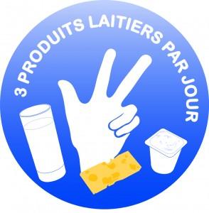 Logo 3 produits laitiers