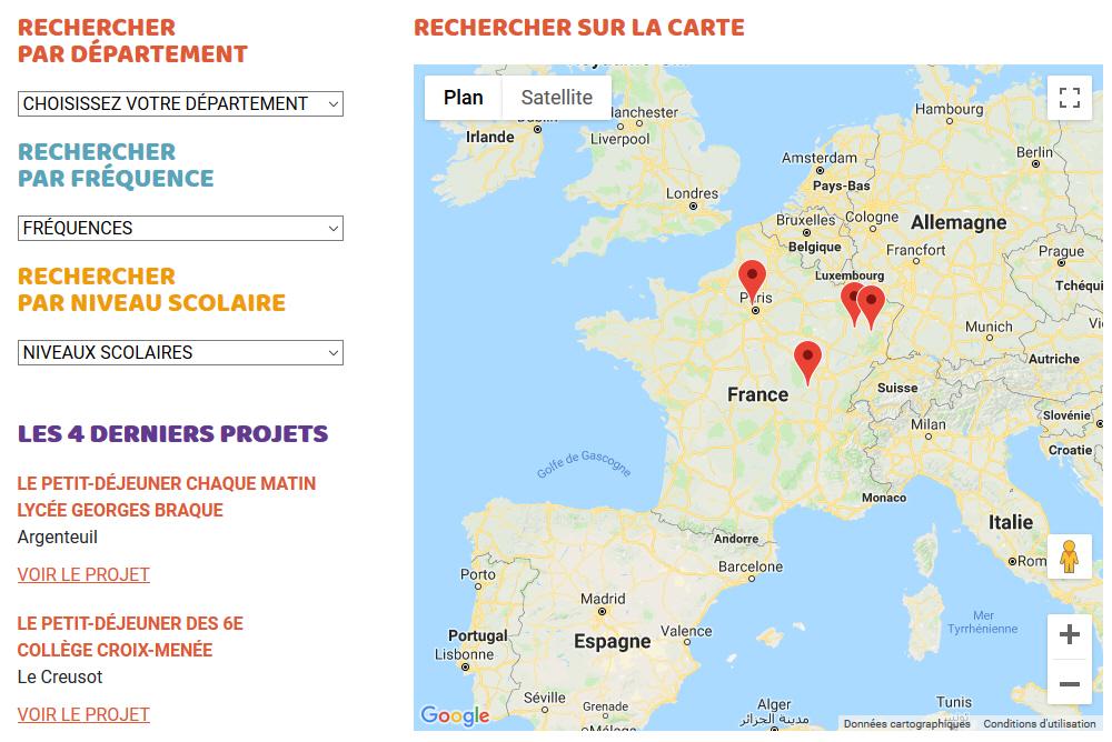 Carte site objectif-petit-dejeuner.fr